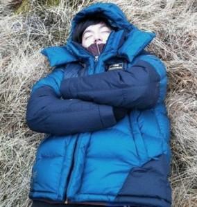 Lee Min Ho Tertidur